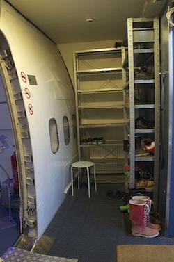 dormir num avião