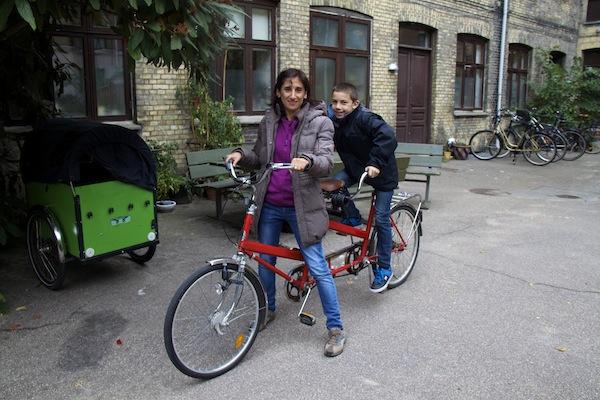 ferias em familia diferentes bicicleta Copenhaga