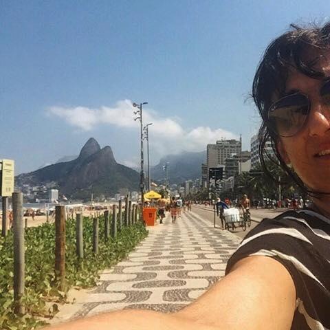 sonho de ir ao Brasil