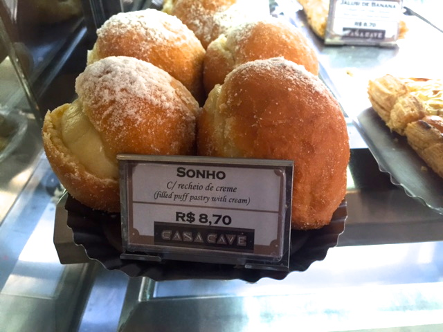 sonho, bolos e doces portugueses no Brasil