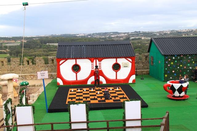 xadrez na obidos vila natal