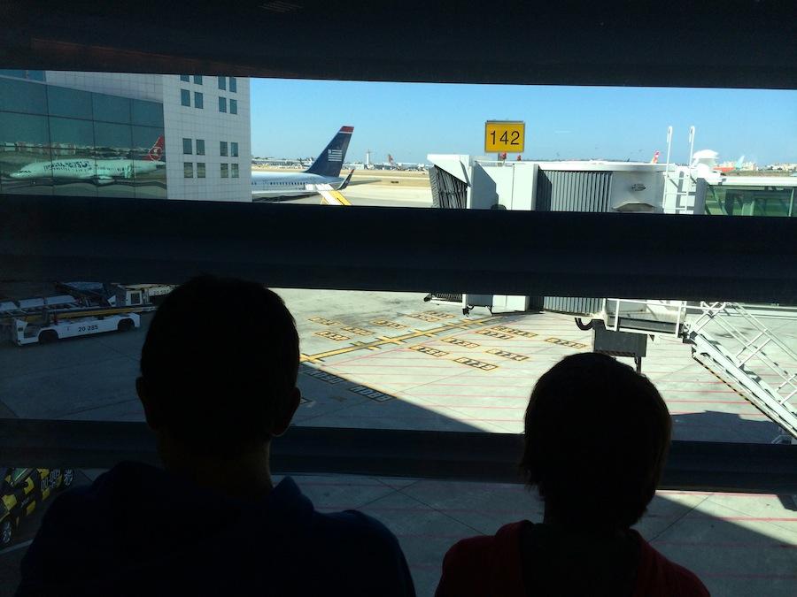 viagens em familia aviao