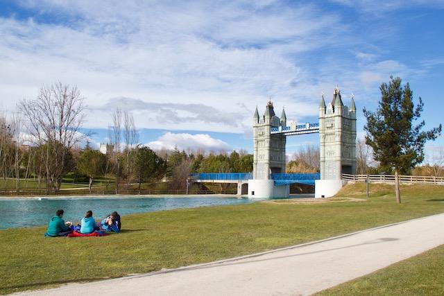 parque europa madrid em familia