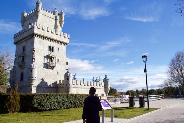 parque europa torre belem madrid em familia