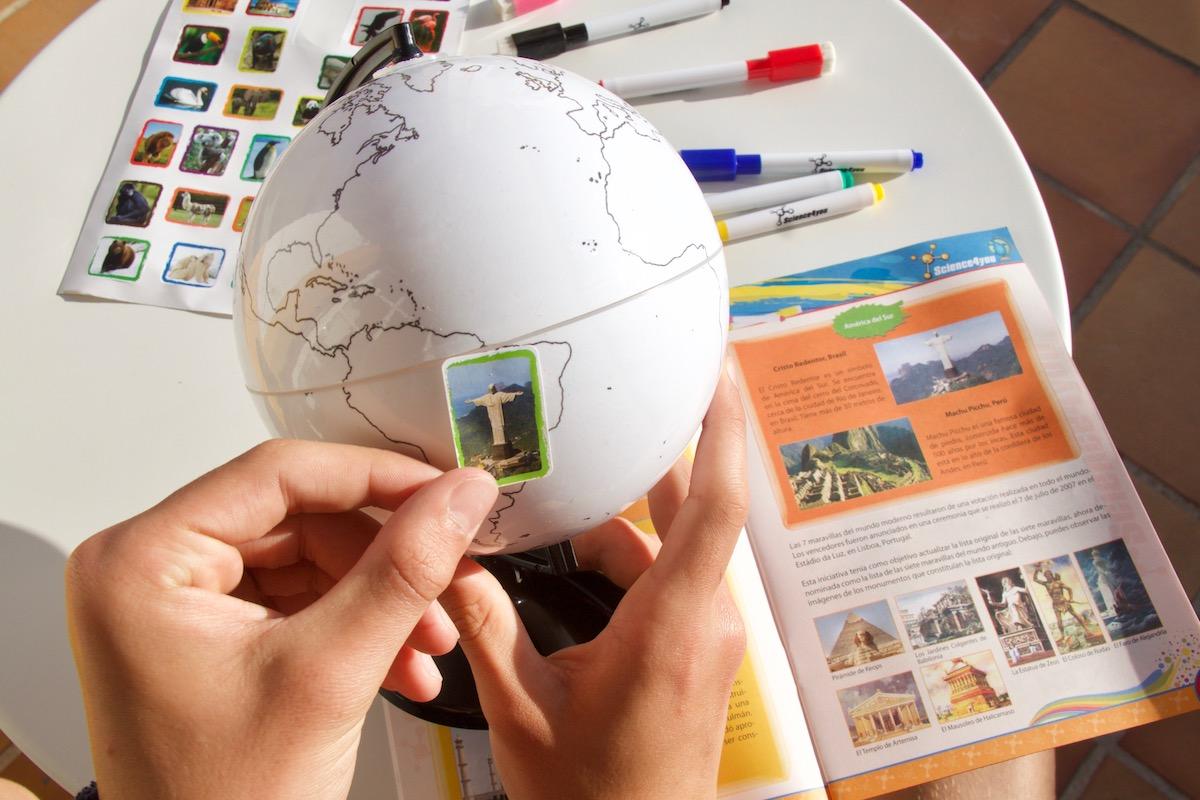 globo para pintar science4you