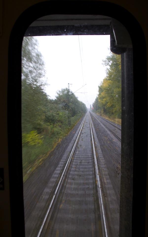 dormir num comboio internacional