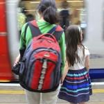 viajar sozinho com crianças
