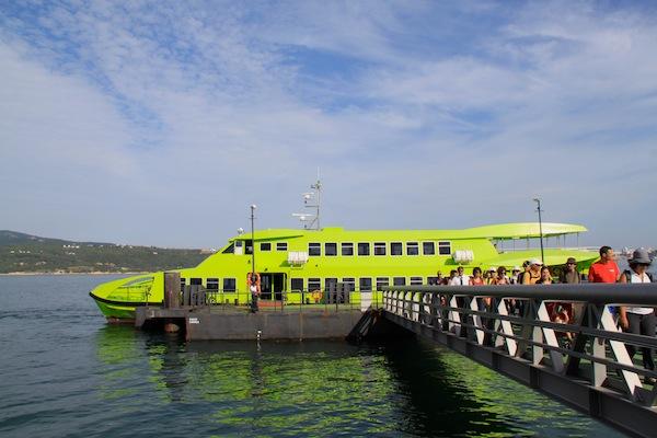 ferry entre Setúbal e Tróia