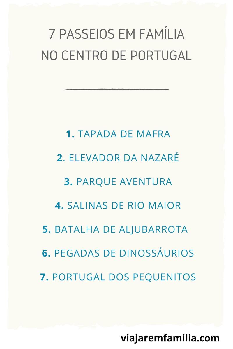 passeios no centro de portugal