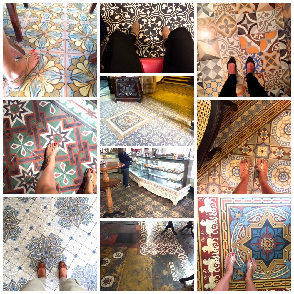 azulejos do chão