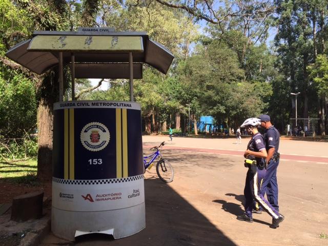 parque ibirapuera guardas