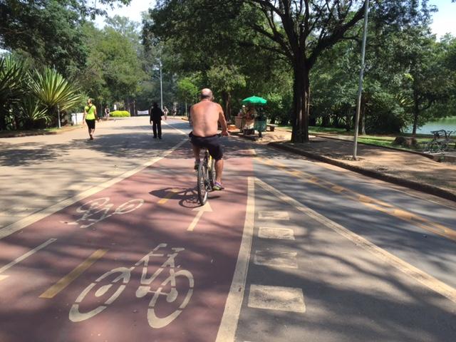 parque ibirapuera pista bicicleta