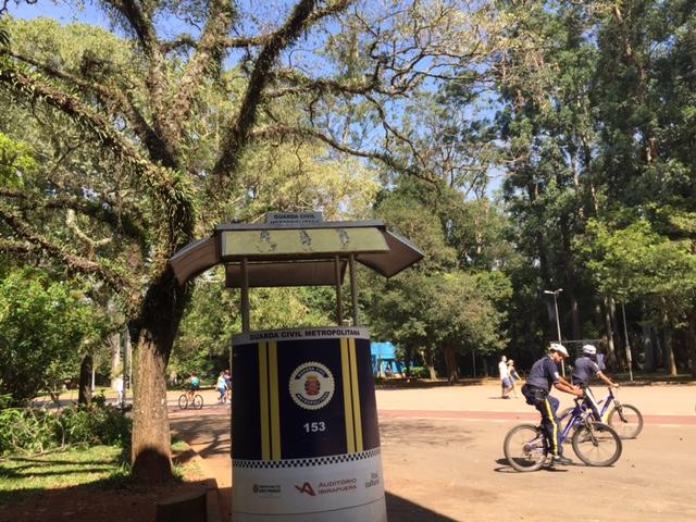 parque ibirapuera posto de vigia