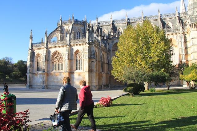Os jardim do Mosteiro da Batalha