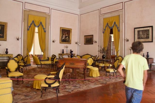 palacio nacional mafra sala amarela