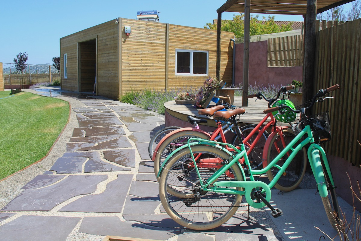 obidos wood villas bicicleta
