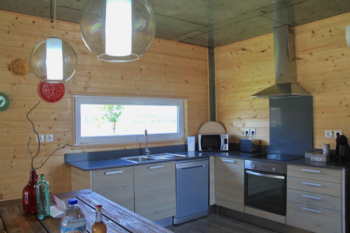 obidos wood villas cozinha