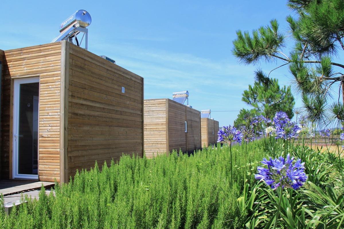 obidos wood villas painel solar