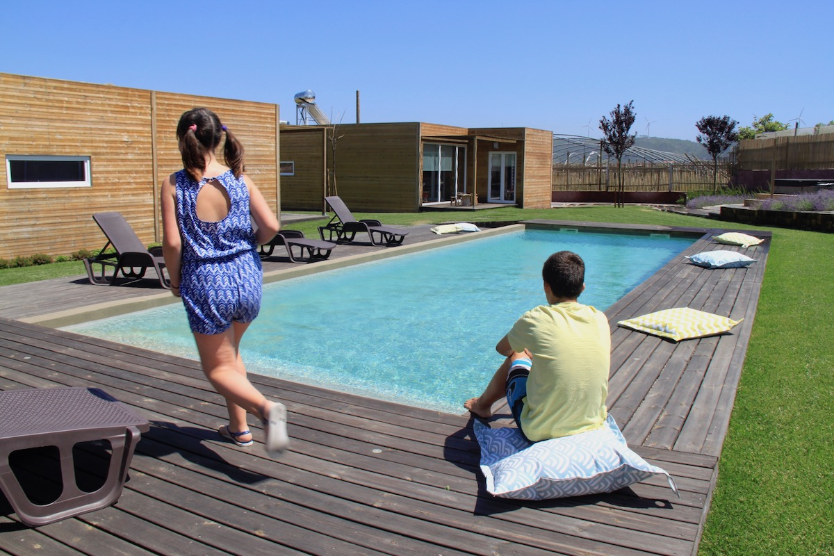 obidos wood villas piscina