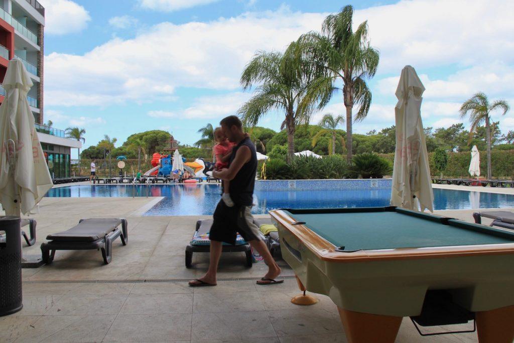aquashow park hotel bilhar