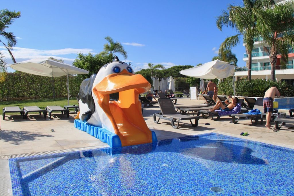 aquashow park hotel piscina infantil