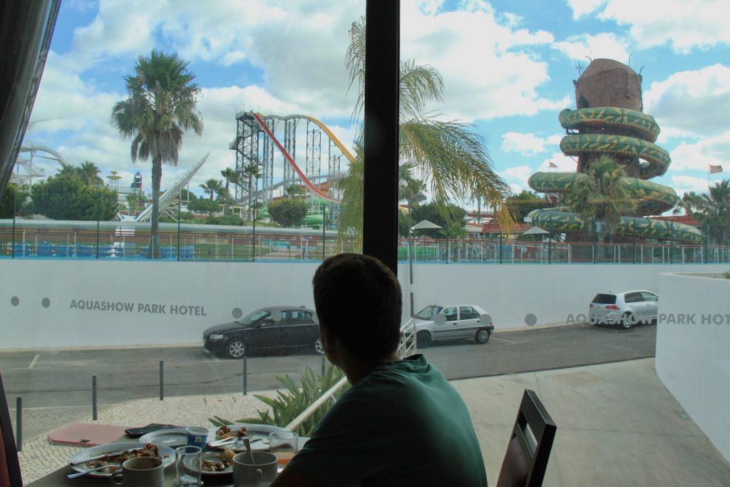 aquashow park hotel restaurante