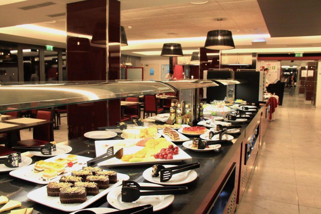 buffet restaurante aquashow park hotel