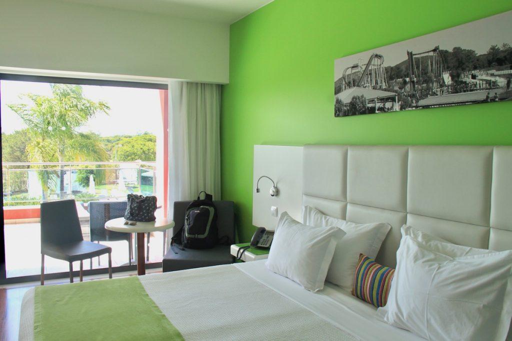 cama quarto aquashow park hotel