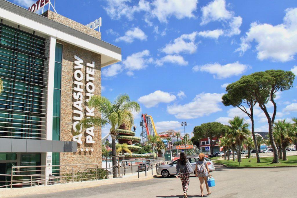 fachada aquashow park hotel