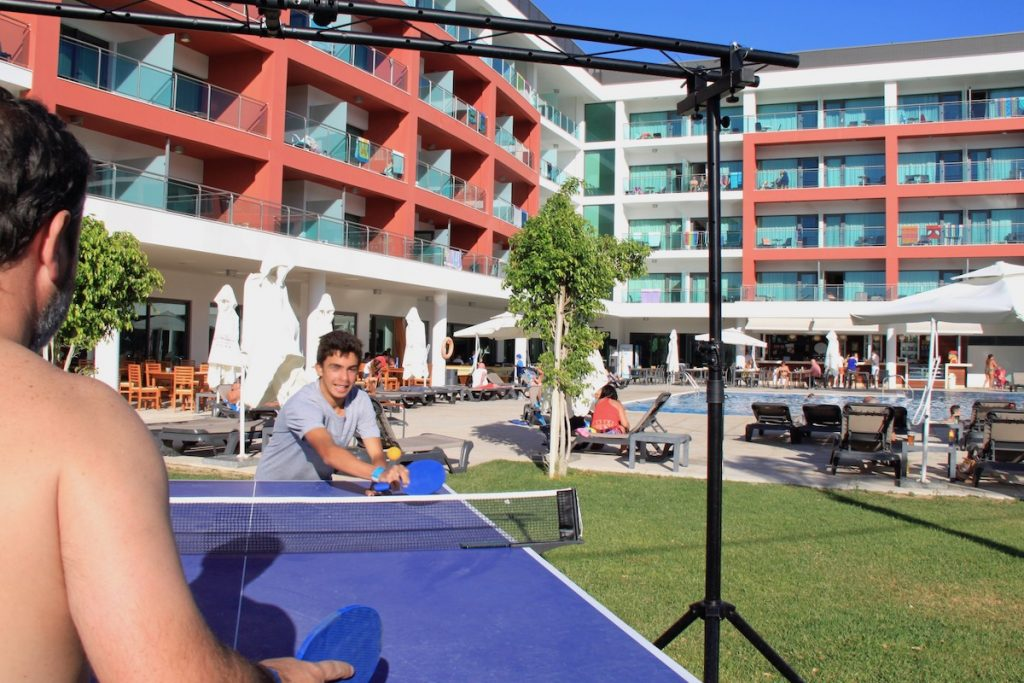 pingue pongue aquashow park hotel