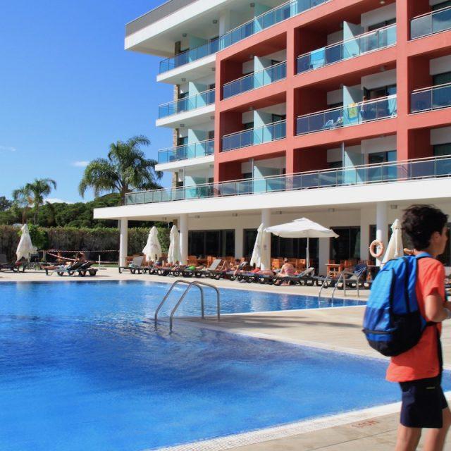 piscina do aquashow park hotel