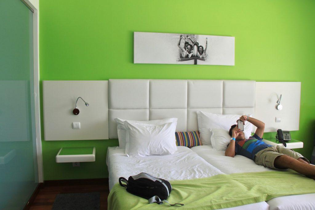 quarto aquashow park hotel