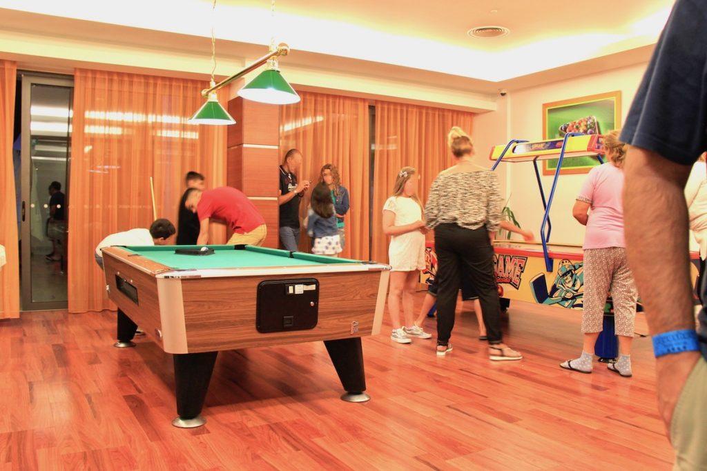 sala de jogos aquashow park hotel