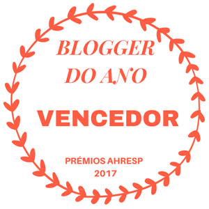 Blogger do Ano, Prémios AHRESP 2017