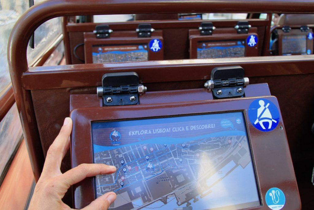 caravel on wheels interactivo