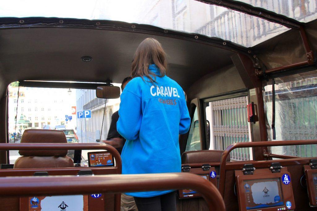 caravel on wheels interior