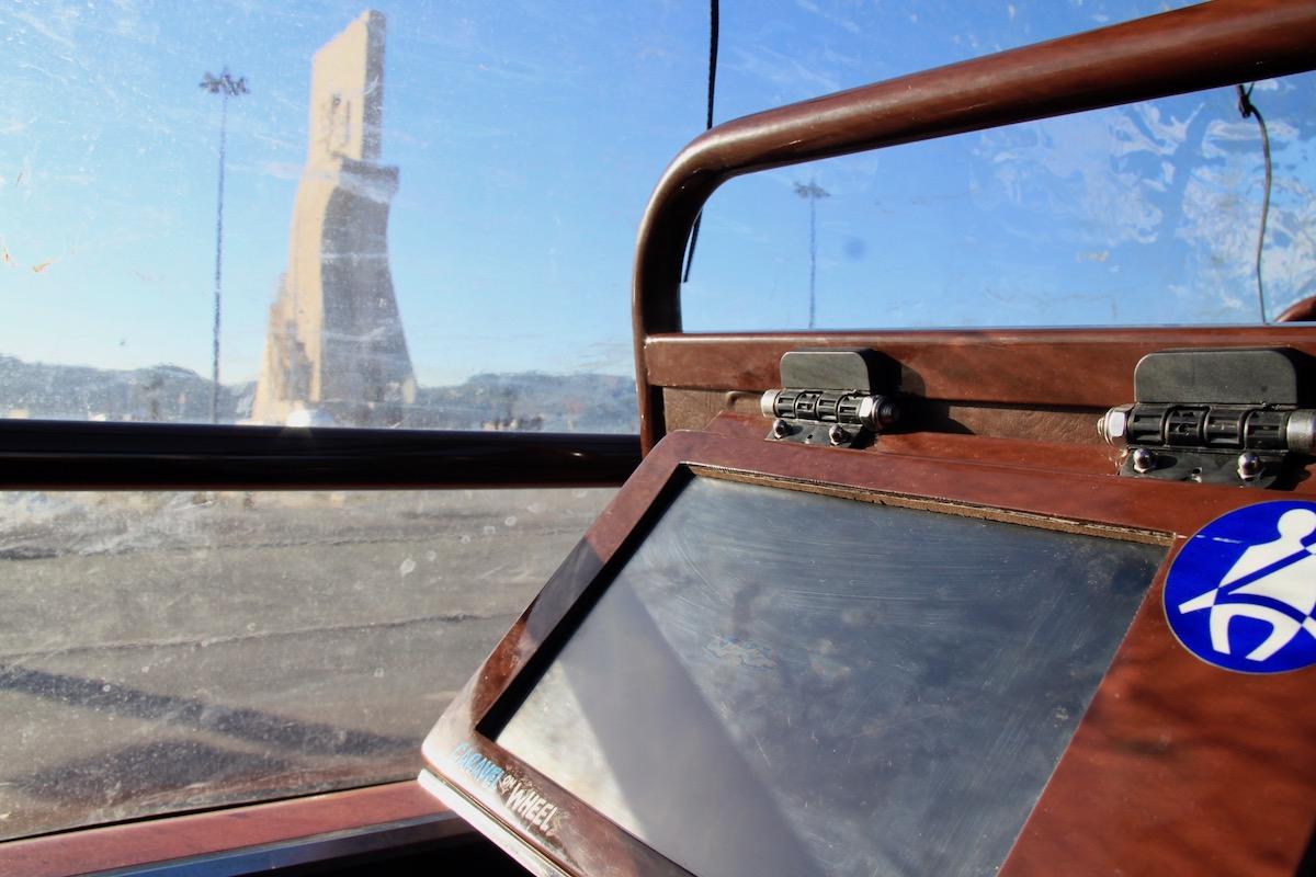 caravel on wheels torre belem