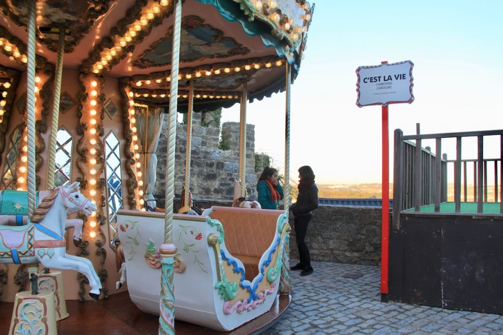 obidos vila natal 2017 carrossel