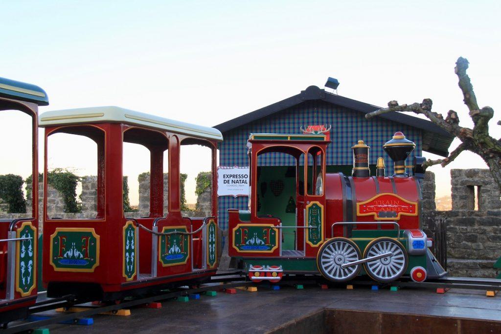 obidos vila natal 2017 comboio