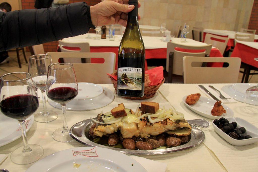 Batista do Bacalhau bacalhau e vinho