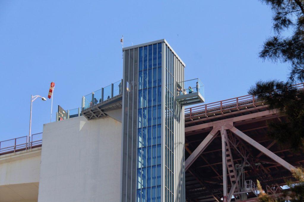 pilar 7 elevador e ponte