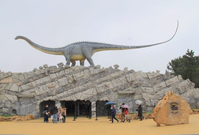 Dino Parque entrada