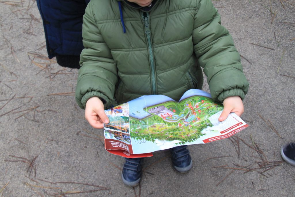 Dino Parque mapa
