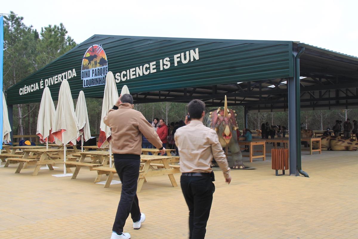 Dino Parque recinto actividades
