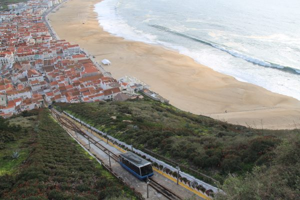 ascensor na nazare vista